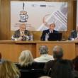 DE izda. a dcha.: Ramón-Darío Molinary (Presidente de ACPE), Julián Núñez( Presidente de SEOPAN) y Alberto Goytre (Director de Reportarte)