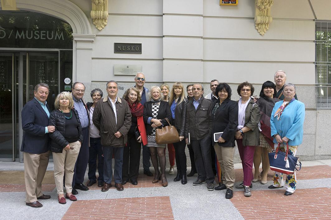 Una visita cultural de lujo para los socios de ACPE