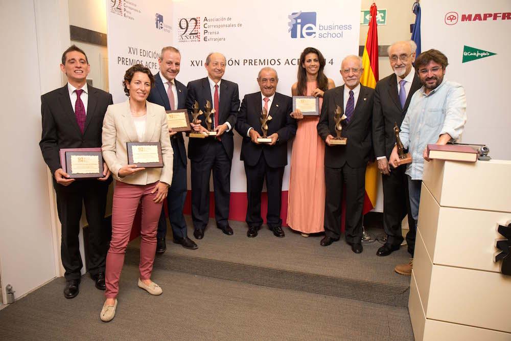 Los corresponsales extranjeros entregan sus premios ACPE 2014