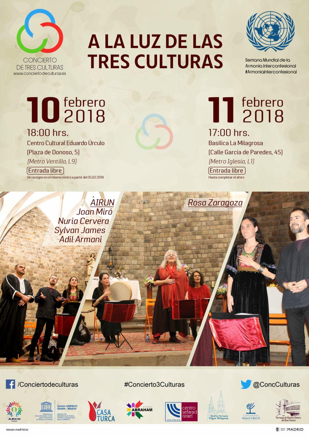 Concierto de Tres Culturas (5ª Edición)