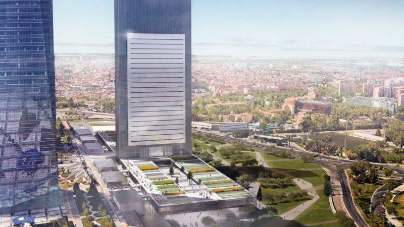 IE Tower, uno de los pocos edificios universitarios en altura del mundo