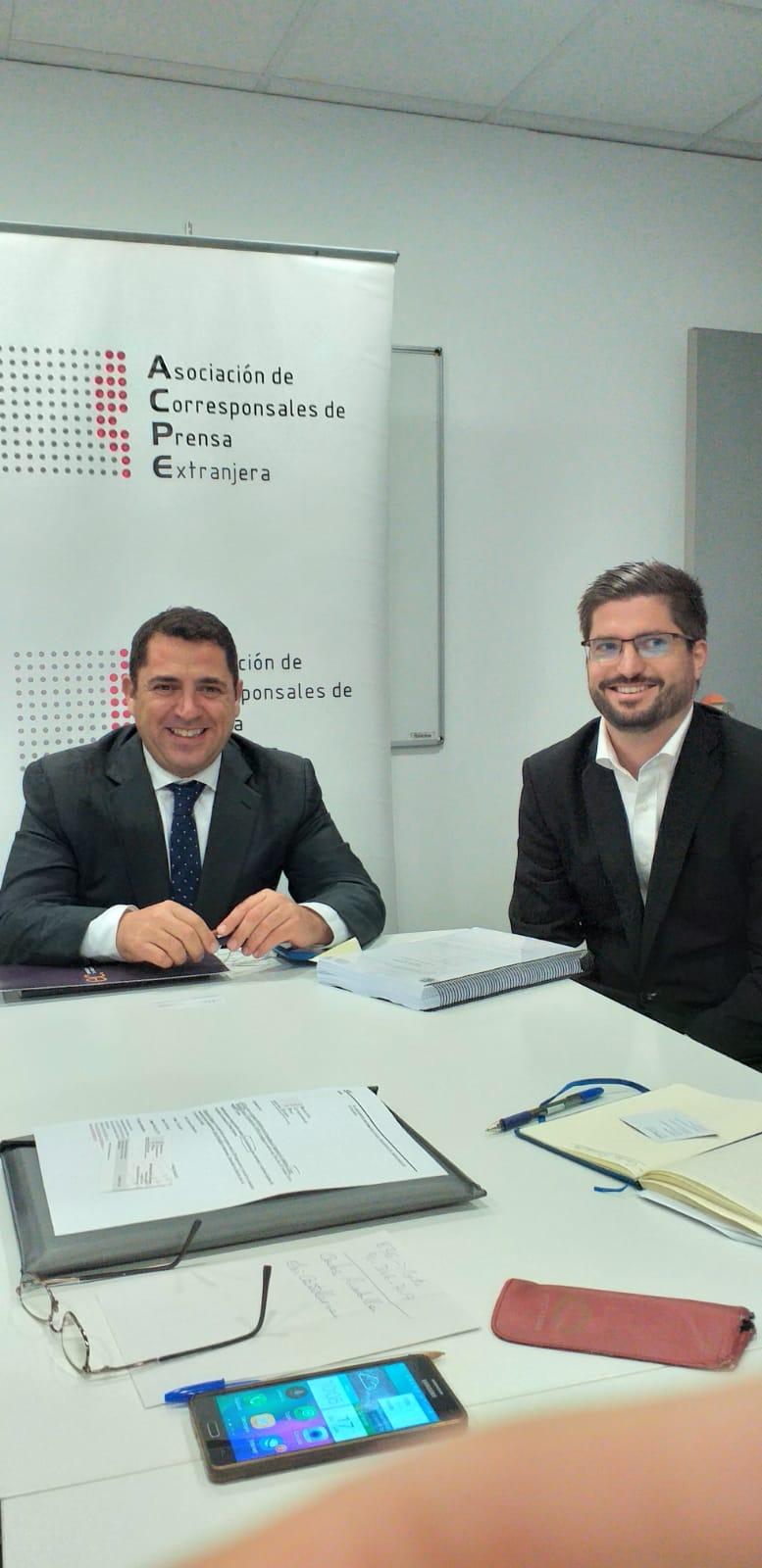 Encuentro Informativo con Carlos Rivadulla, Presidente de Empresaris de Catalunya