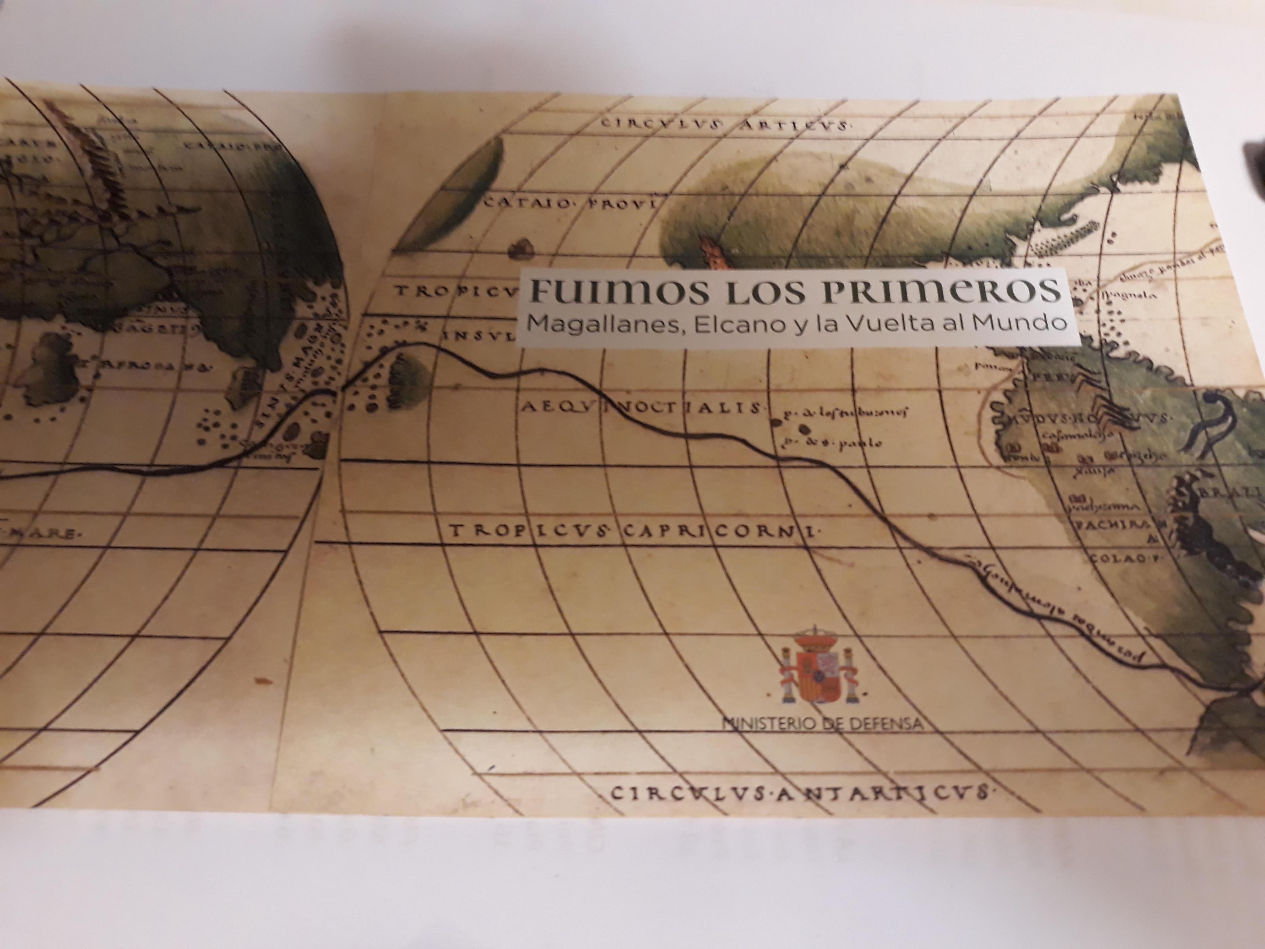 CABALLEROS  EN  LA  MAR Conmemoración de los 500 años de la primera vuelta al mundo