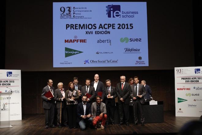 Los corresponsales extranjeros entregaron sus Premios ACPE 2015