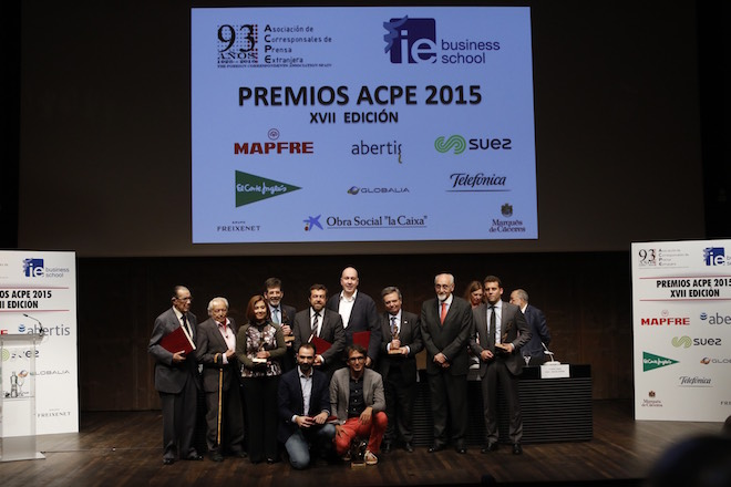 Premios ACPE 2015