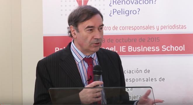 Pedro J. Ramírez: El periodismo es una manera de llegar a la sociedad y una manera de jerarquizar y controlar.