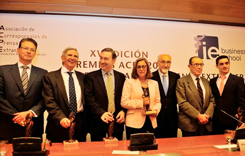 Los corresponsales extranjeros entregan sus Premios ACPE 2013