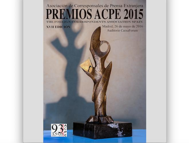 Los corresponsales extranjeros entregarán sus Premios ACPE 2015